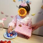 アンパンマンのデコレーションケーキを頼んでみた♪【2歳の娘の誕生日】